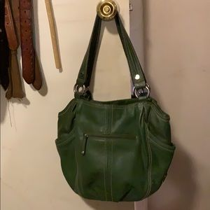 Tiganello green purse